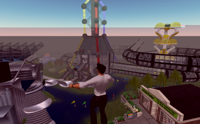 Comcastic Island on Second Life