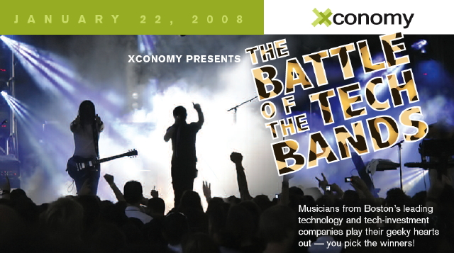 Xconomy Battle of the Tech Bands — January 22, 2008