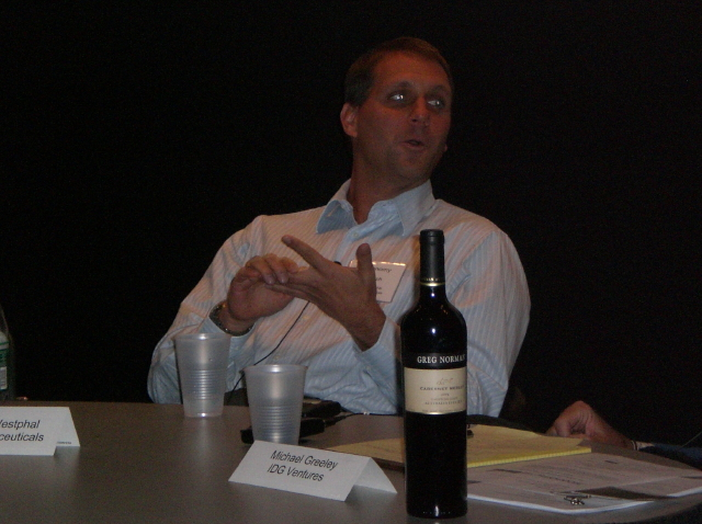 Christoph Westphal and wine