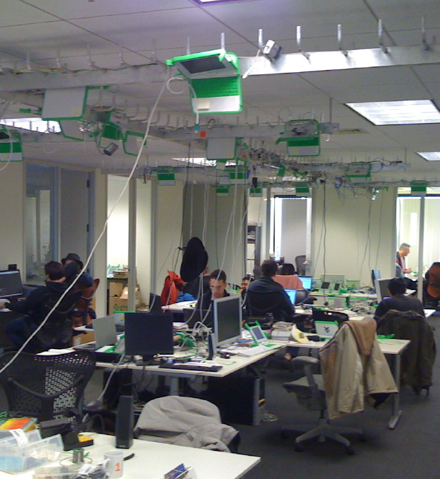 A Day at the OLPC Office