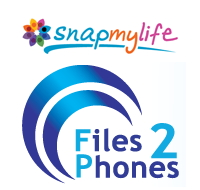 Snapmylife and Files2Phones logos