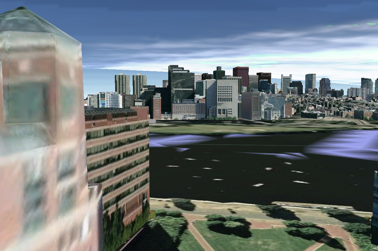 River Court Rooftop -- The Google Earth Version