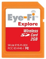 Eye-Fi Explore 2GB Wireless SD Card
