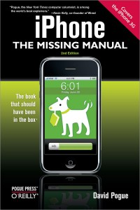 iPhone: The Missing Manual, by David Pogue