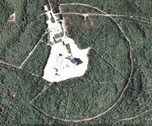 PAVE PAWS radar installation, Cape Cod, MA