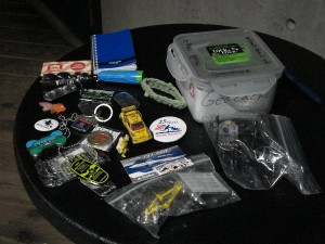 Contents of a Typical Geocache
