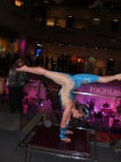 Highland party contortionist