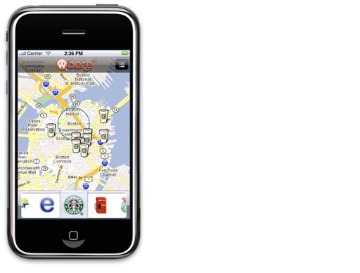 Where on the Apple iPhone