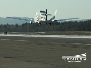 Terrafugia Transition's first flight