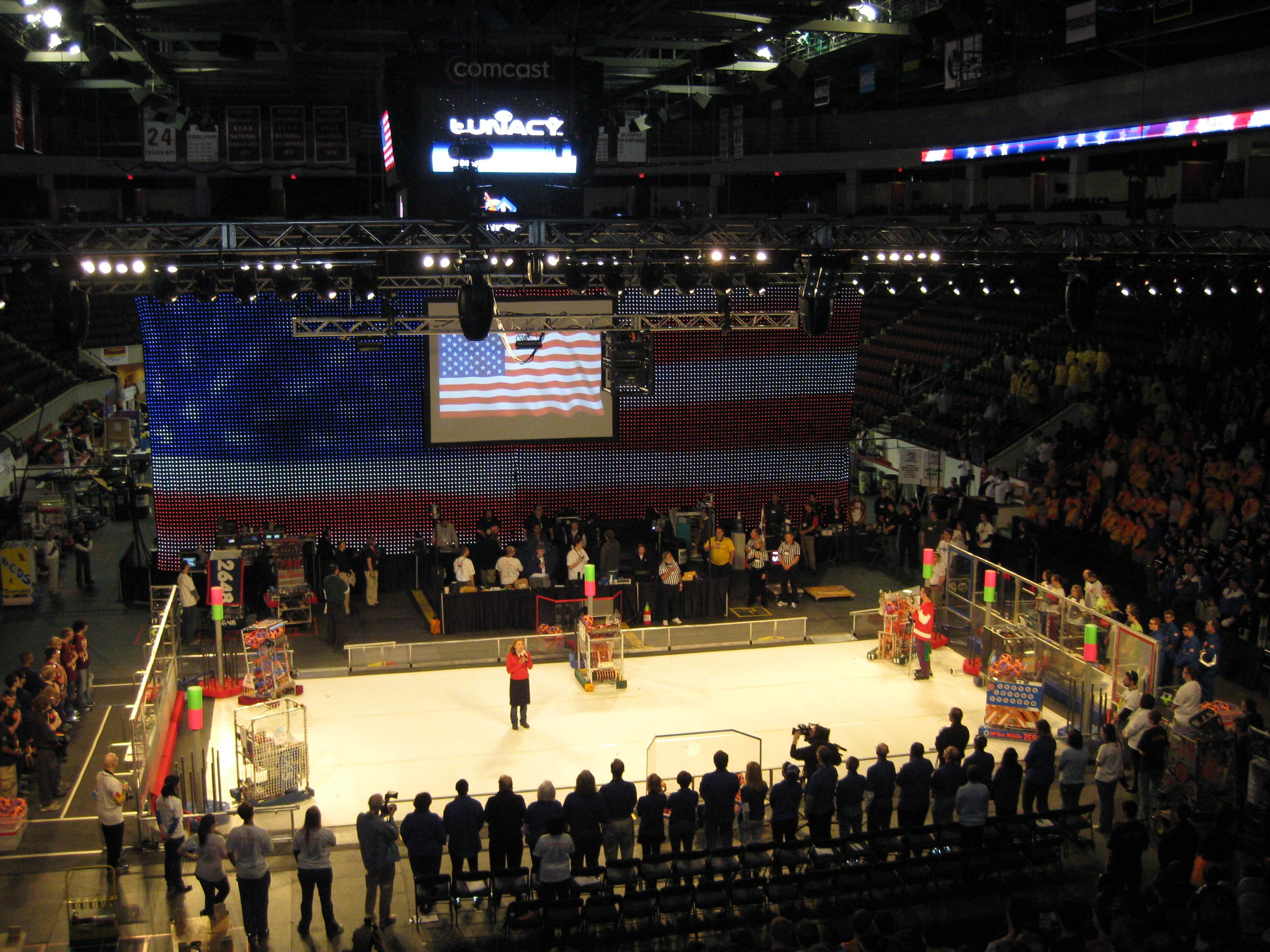 FIRST Robotics National Anthem