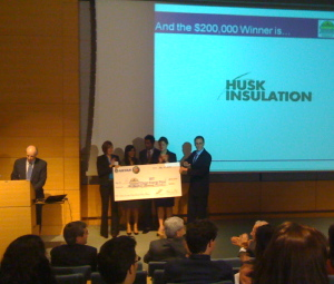 MIT Clean Energy Prize winners -- Husk Insulation