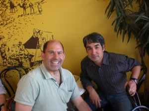 Mike Hirshland and Bijan Sabet