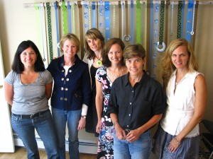 Left to right: Joanne Domeniconi, Jules Pieri, Jen Lockwood, Barbara Gordon, Patti Purcell, Wendy Chandor.