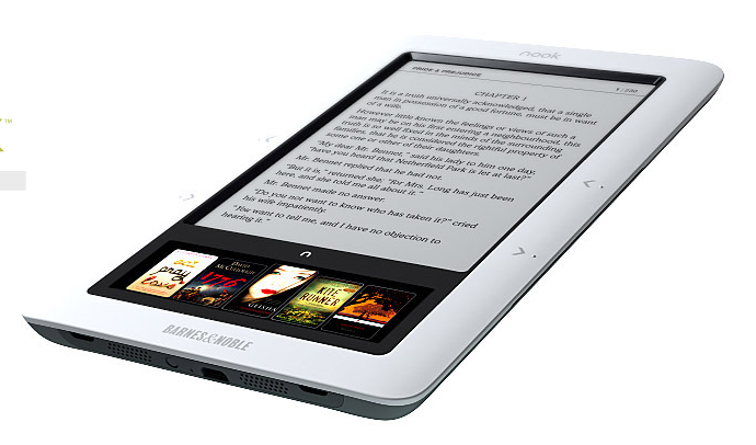 Barnes & Noble's Nook e-book device