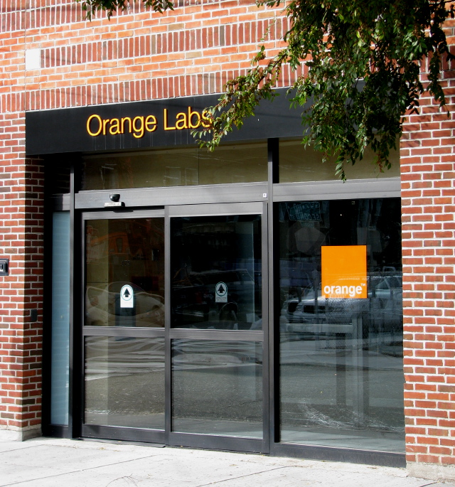 Orange Labs' facility on Second Street in Kendall Square, Cambridge, MA