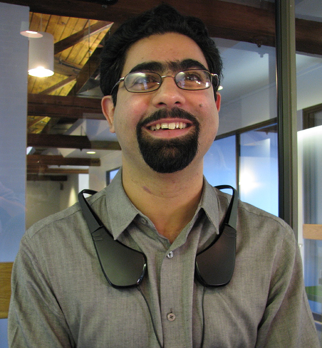 Shahriar Afshar, CEO of Immerz