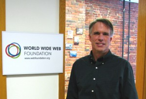 Steve Bratt, CEO of the World Wide Web Foundation