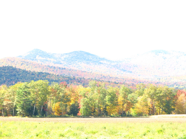 Hills in Vermont, Overexposed