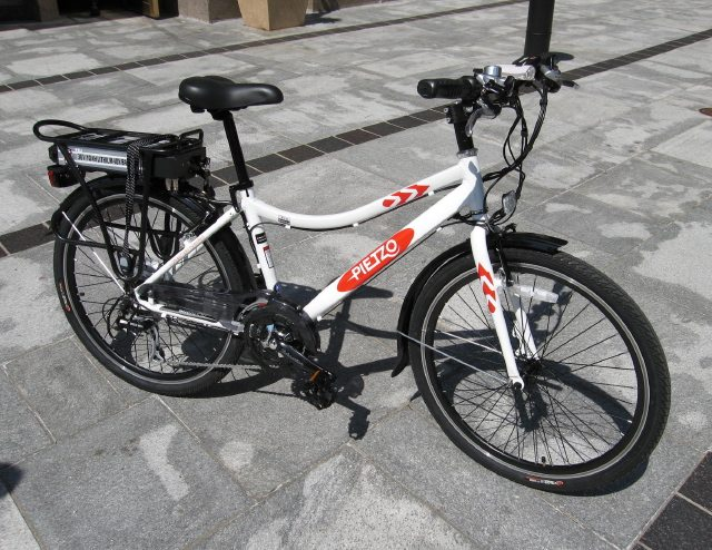 A Pietzo electric-assisted bicycle