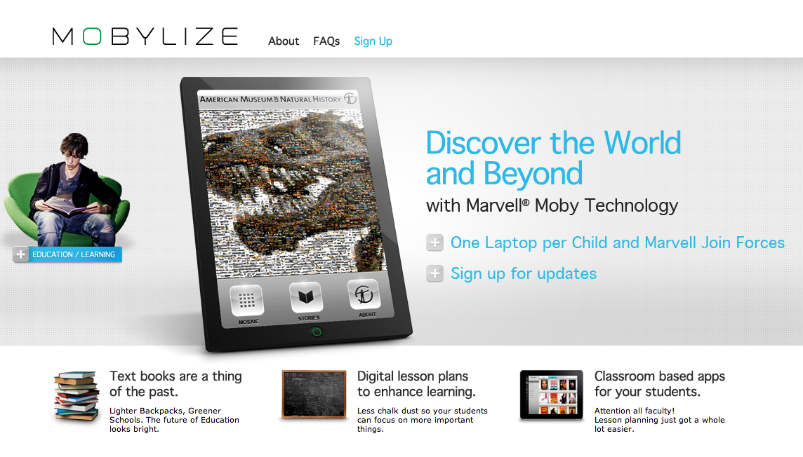 Marvell's Mobylize website