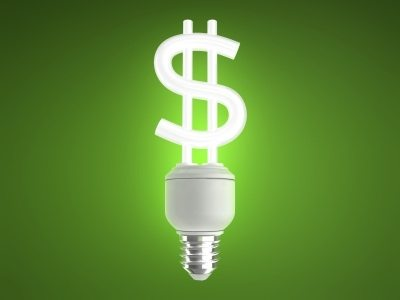 Energy Conservation dollar sign