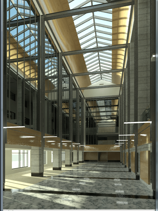 Architectural rendering using Autodesk's 3DSMax