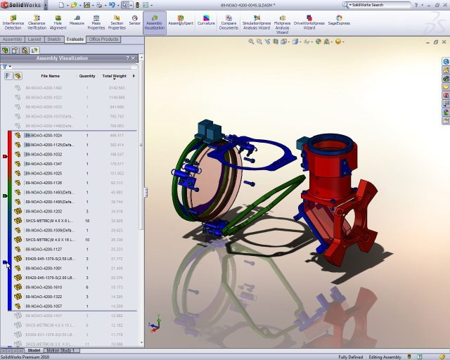 SolidWorks assembly modeling illustration - Xconomy