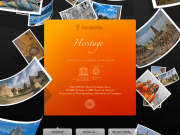 Fotopedia Heritage iPad app splash screen