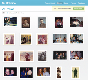 1000Memories photo page for Sal DeBruno