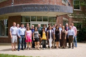 Teams and mentors from Babson College's Summer Venture Program