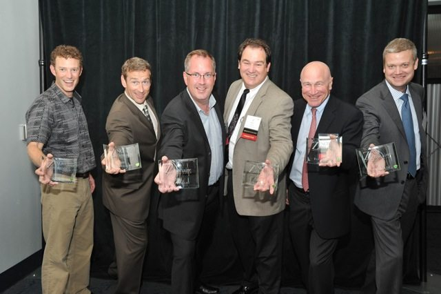 Finalists Kevin Veon, Adam Stein, Keith McCall, Ken Childress, Max Lyon, Craig Rominger (from left to right).