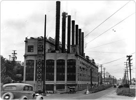 The old Seattle City Light Steam Plant