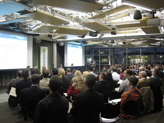 Xconomy's VC Crossfire event at Amazon's new South Lake Union headquarters.