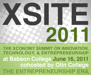 XSITE 2011: The Entrepreneurship Era