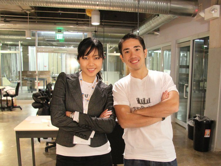 CityPockets and Reclip.it founders Cheryl Yeoh and Jhony Fung
