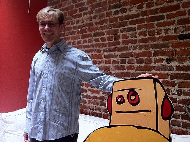 Instructables founder and CEO Eric Wilhelm