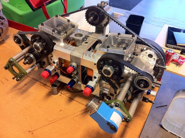 Pinnacle Engines' prototype Cleeves Cycle engine