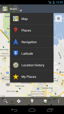 Google Maps for Mobile on Android