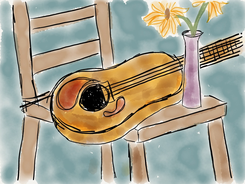 A sketch from FiftyThree's Paper app
