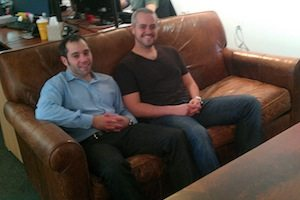CustomMade founders: Seth Rosen (left) and Mike Salguero