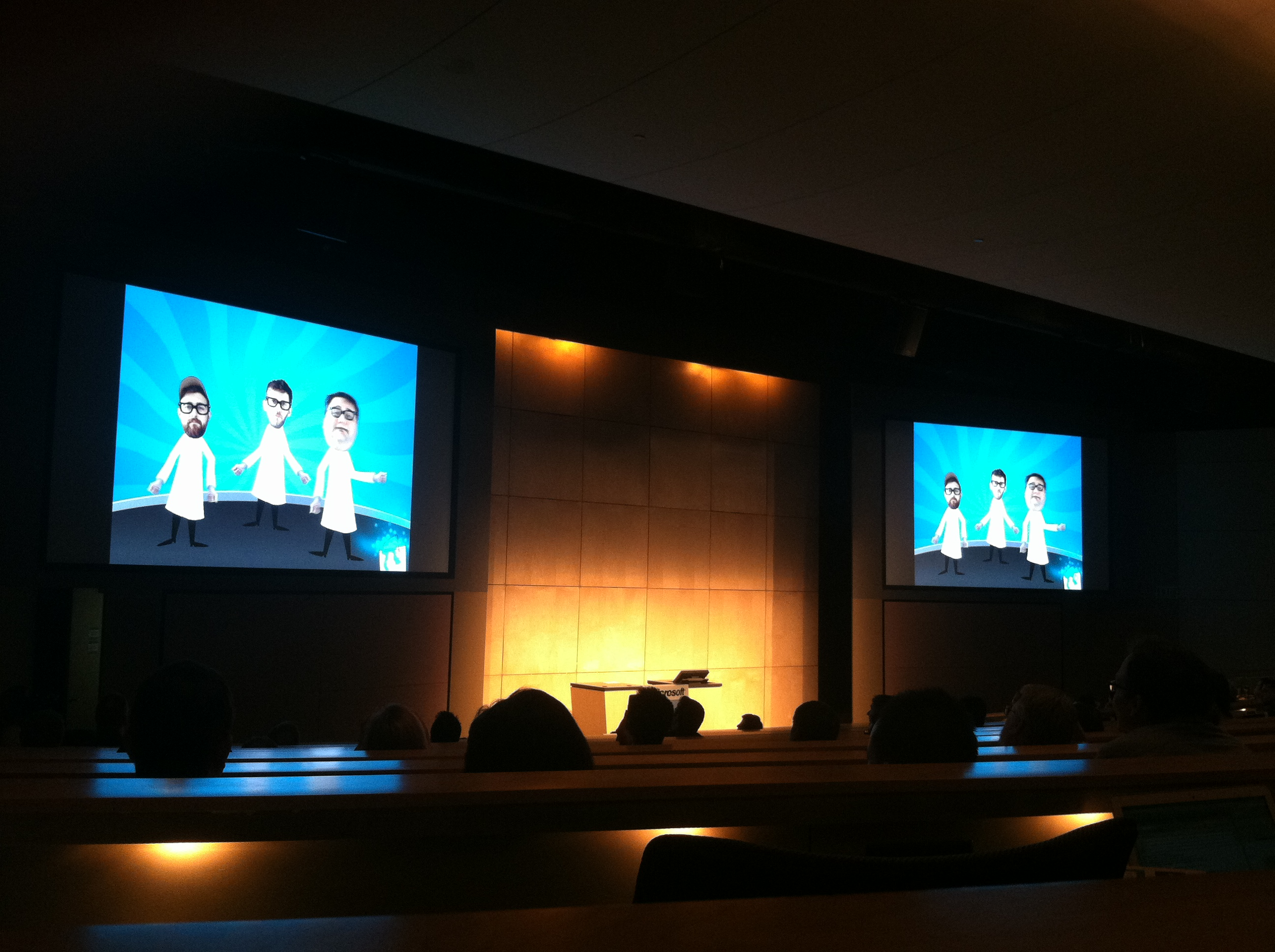 """Kinect Accelerator Demo Day - Photo by Michael """"Luni"""" Libes"""