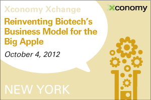 NYC Bio Luminaries to Gather Oct. 4th for Xconomy Xchange