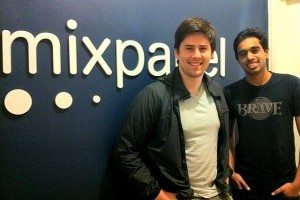 Mixpanel co-founders Tim Trefren (left) and Suhail Doshi (right)