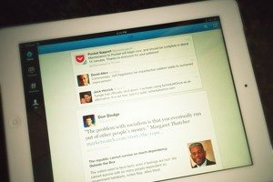 Twitter's 5.0 app for the iPad