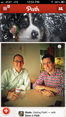 A Path moment: My Dec. 11 visit to Path HQ