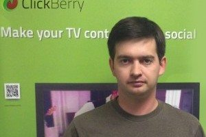 Alex Babin, founder of ClickBerry