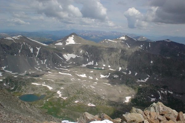 View from Quandary Peak (Photo by BVBigelow)