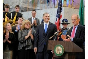 Inslee introduced by Hayes -- Flickr