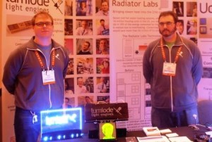 Brian Tull and John Sarik of Lumiode