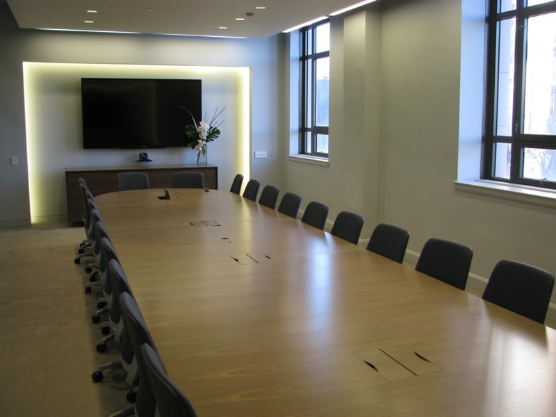 Yammer Grand Opening -- board room